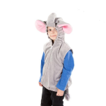 Elephant Zip Top Fancy Dress